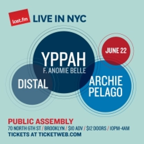 FREE DOWNLOAD - Live @ Public Assembly, Brooklyn NY June 22 2012