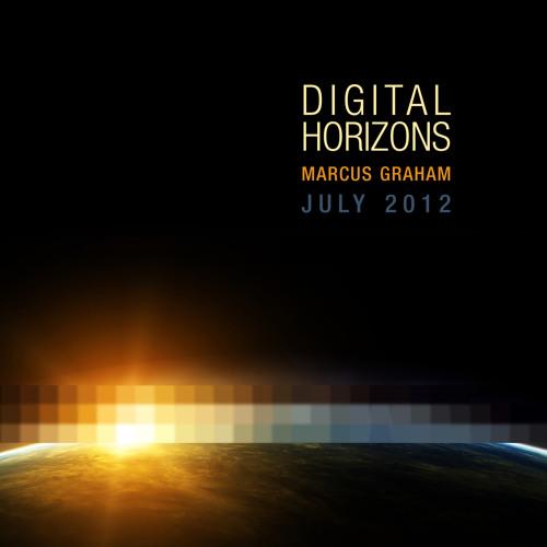 Marcus Graham - Digital Horizons @ Calon FM - July 2012