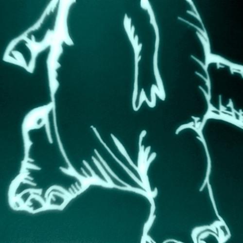 Dino Fist Silver