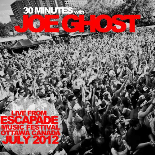 Joe Ghost Live @ Escapade Festival 2012-06-30