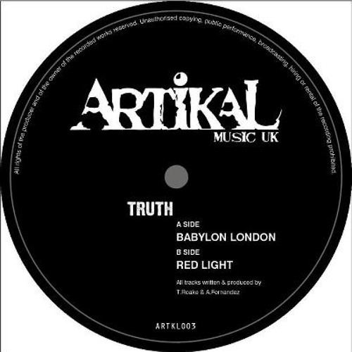 Truth - Haarp (ARTKL003)