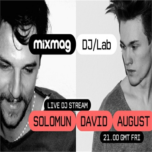 Solomun & David August in the Mixmag DJ Lab