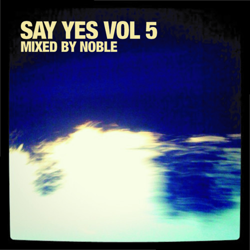 Say Yes Vol.5 Mixed By Noble
