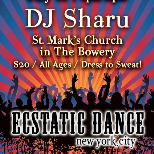 Ecstatic Dance NYC w/Sharu