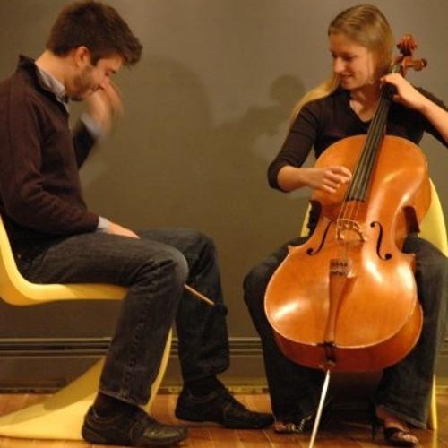 Étoiles de mer (Rose Bellini, cello + Bill Solomon, percussion)