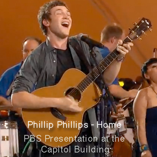 Phillip Phillips - Home Performed on PBS 4th July celebration