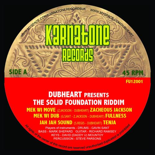 Karnatone records FU12001 - Dubheart/Fullness/Russ Disciple