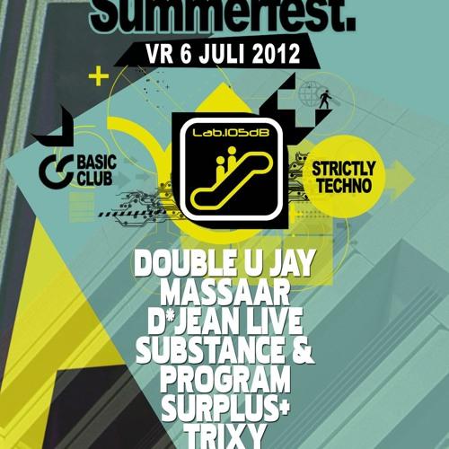 Live at Basic Summerfest - Lab 105db Area (06-07-12   Tielt)