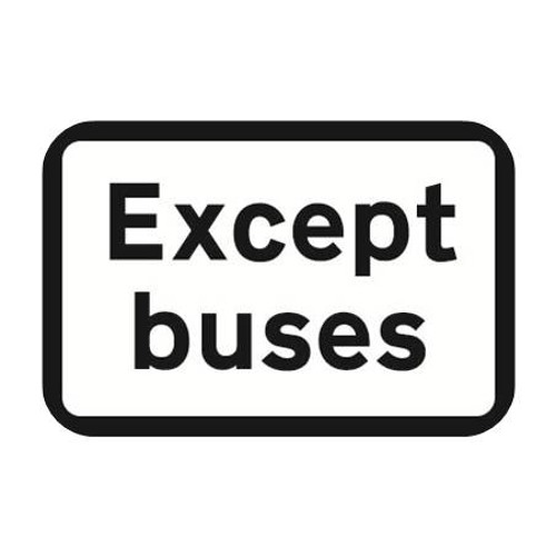 Except Buses - Our Ken [Recorded 29-April-1989]
