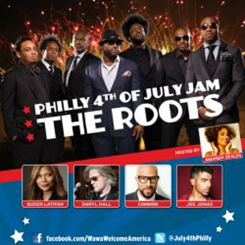 The Roots with DJ Jazzy Jeff & Brass Heaven 7/4/12 Bustin' Loose (Chuck Brown cover)
