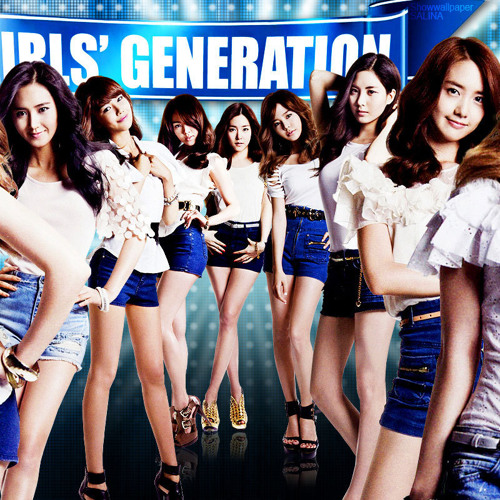 GIRLS' GENERATION _ SNSD - PAPARAZZI (Remix)