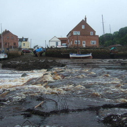 Rainwater in the Esk, Whitby