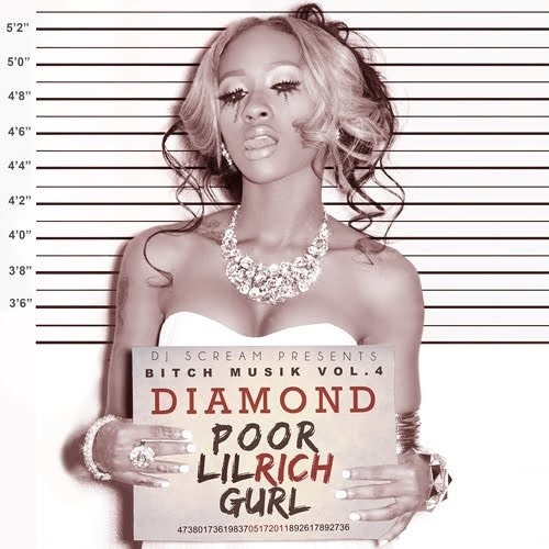Diamond-Hit That Hoe Feat Waka Flocka Flame