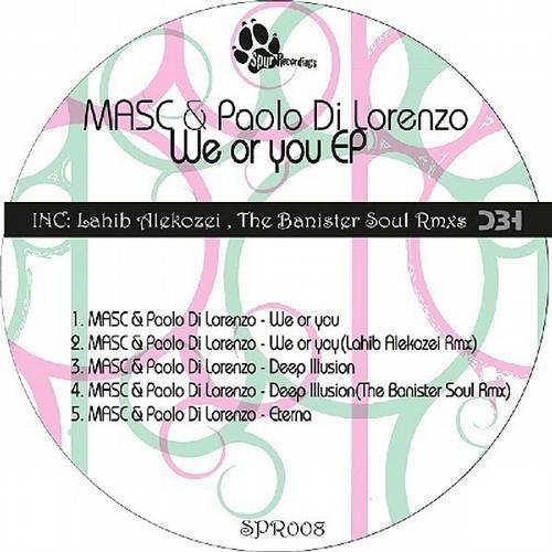 MASC & Paolo Di Lorenzo - We or you (Lahib Alekozei Rmx) (Spur Recordings)