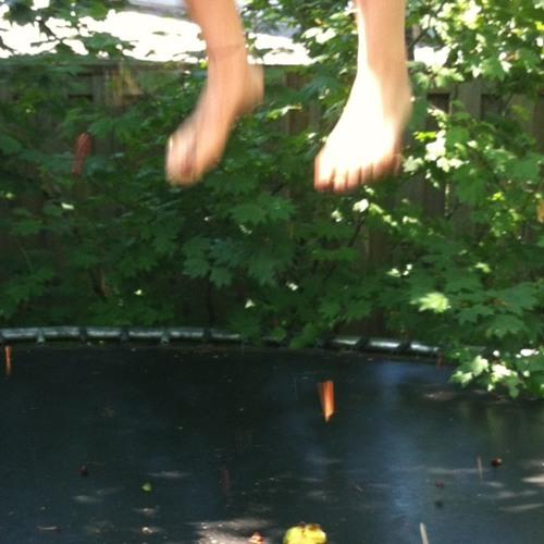 Cherries on the trampoline