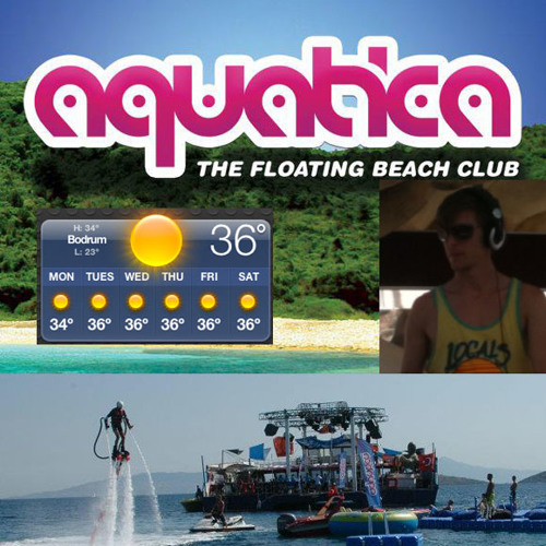 DJ Simon Baring - Aquatica - Catamaran LIVE Mix July 4th