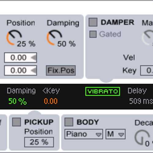 Working With Tension - Blank Preset