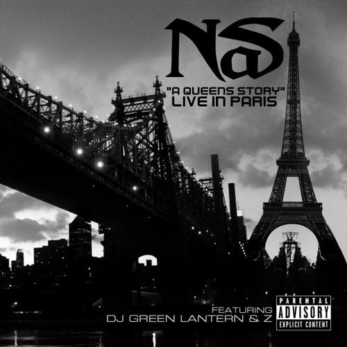 Nas ft DJ Green Lantern & Z - A Queens Story Live - ConveyerOfCool