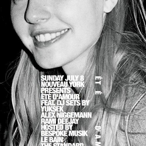 Alex Niggemann + Rami Deejay for Nouveau York X Bespoke Muzik at Le Bain