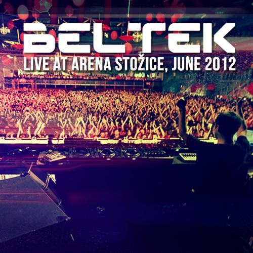 Beltek liveset at Arena Stozice, June 2012
