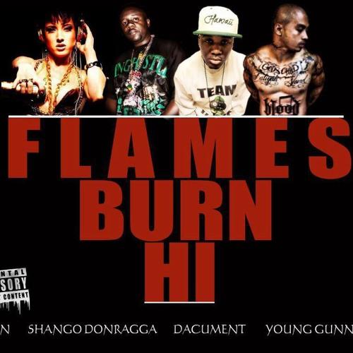 Flames Burn HI