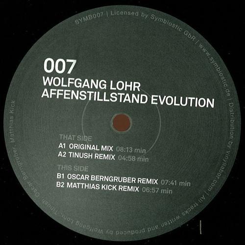 Wolfgang Lohr - Affenstillstand (Oscar Berngruber Remix)