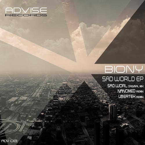 Biony - Sad World (Ubertek remix) Advise Records