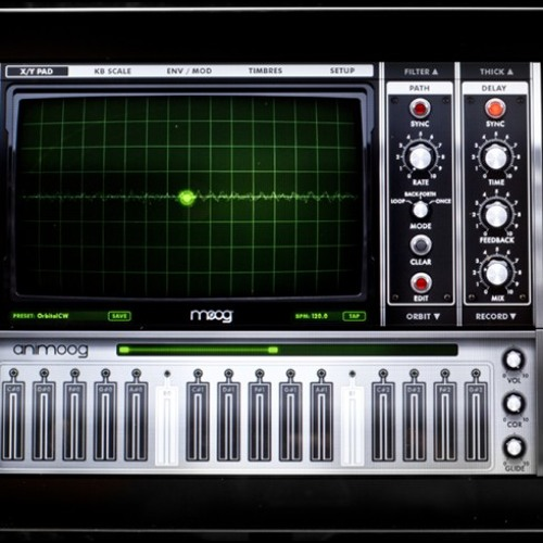 Animoog 313 - Mike Huckaby