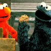 A tease of the Cookie Monster & Elmo Interview
