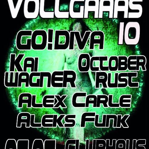 GO!DIVA @ Vollgaaas meets Nachtstrom Schallplatten (05.05.12)