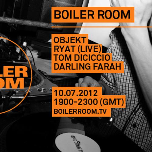 Tom Dicicco 45 min Boiler Room DJ Set