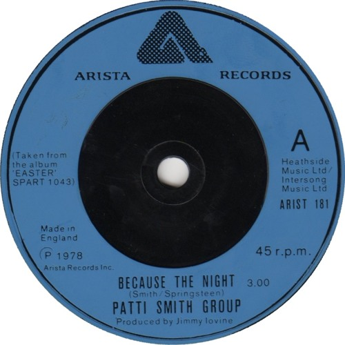 Patti Smith - Because the Night (auditoryelements Remix)