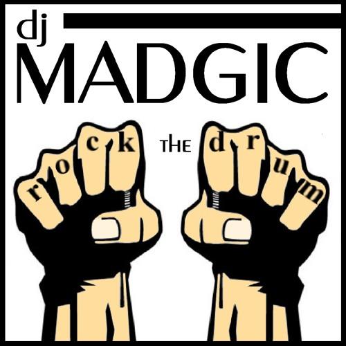 "DJ MADGIC "" ROCK THE DRUM ""  ( Drum N Bass )"