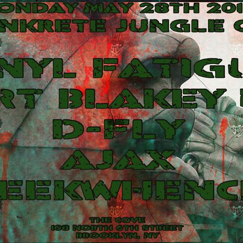 D-Fly @ Konkrete Jungle NYC 28.May.2012
