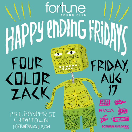 Four Color Zack (Fools Gold) Happy Ending Fridays Exclusive Mix
