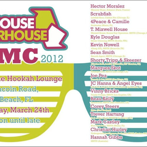 My House Your House mix - Live @ WMC 2012