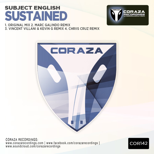 Subject English - Sustained (Marc Galindo Remix) [Coraza] Out now!
