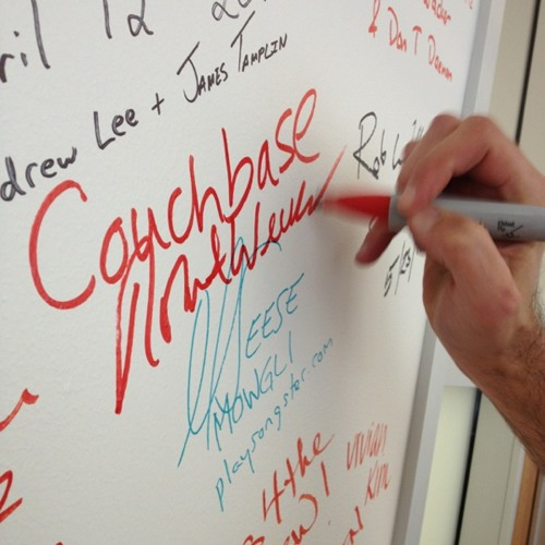 The database made for the Google Glasses: @couchbase Zynga is running it already. I talk with CEO. at Rackspace SF