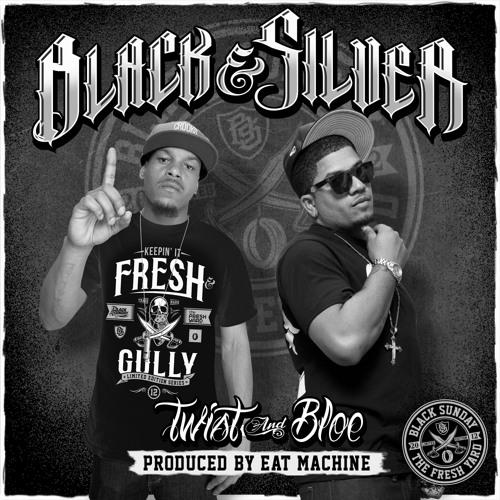 Twist & Bloe - Black & Silver (street)