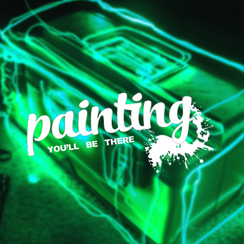 Painting - You'll be There (Album Mixtape)