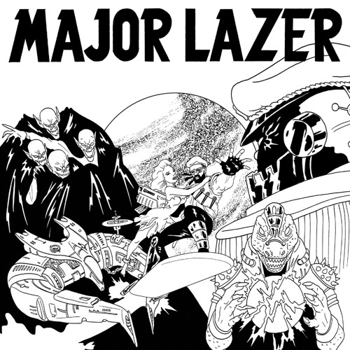 "Hot chip ""look at where we are"" ( MAJOR LAZER vs JUNIOR BLENDER mix)"