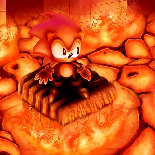 Sonic 1- Marble Zone (Modern RMX)