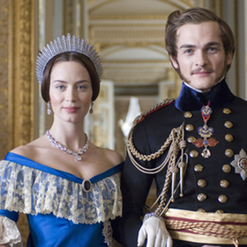 Emily Blunt and Rupert Friend on The Young Victoria (2009)