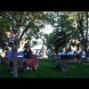 Celtic music in th' park