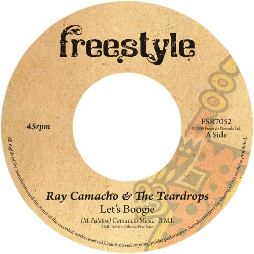 Ray Camacho & the Teardrops - Let's Boogie [Honest Lee Re-Edit]