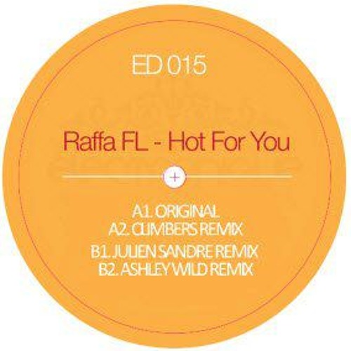 "Raffa FL - Hot For you (Original Mix) SAMPLE [Electronique Vinyl Series] (12"")"