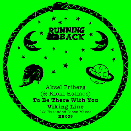 RB035 B1 Aksel Friberg & Kicki Halmos - To Be There With You