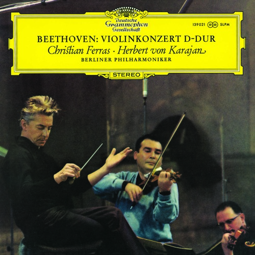 Karajan and the Berlin Phil perform Beethoven's Violin Concerto In D, op. 61 (Larghetto)