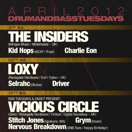 Ben Soundscape DnB Tuesdays Seattle Apr 2012