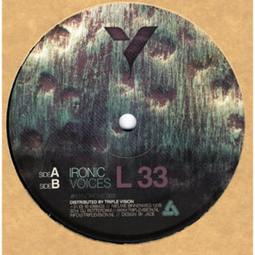 A.L 33 - Ironic - OUT NOW - [SYNDROME023]